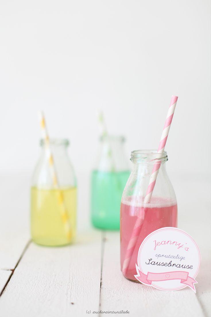 Jeanny's selbstgemachtes sprutzeliges Sausebrausepulver – Picknick-Post aus meiner Küche | Zucker, Zimt und Liebe