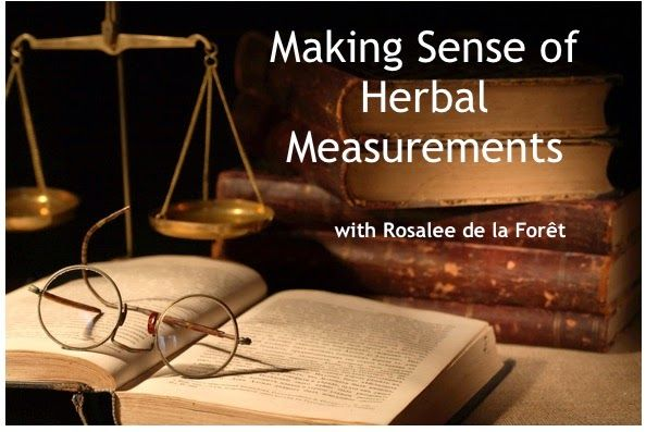 This article is about navigating your way through understanding the different measurements commonly used in herbal medicine making.     Most people in the US are familiar with culinary or baking measurements such as 1/2 teaspoon of baking soda or 3/4 cup olive oil.   But in herbalism we use a variety of measurements that you may not be familiar with.   The good news is that, once they are explained and you have the right tools, they are really simple.