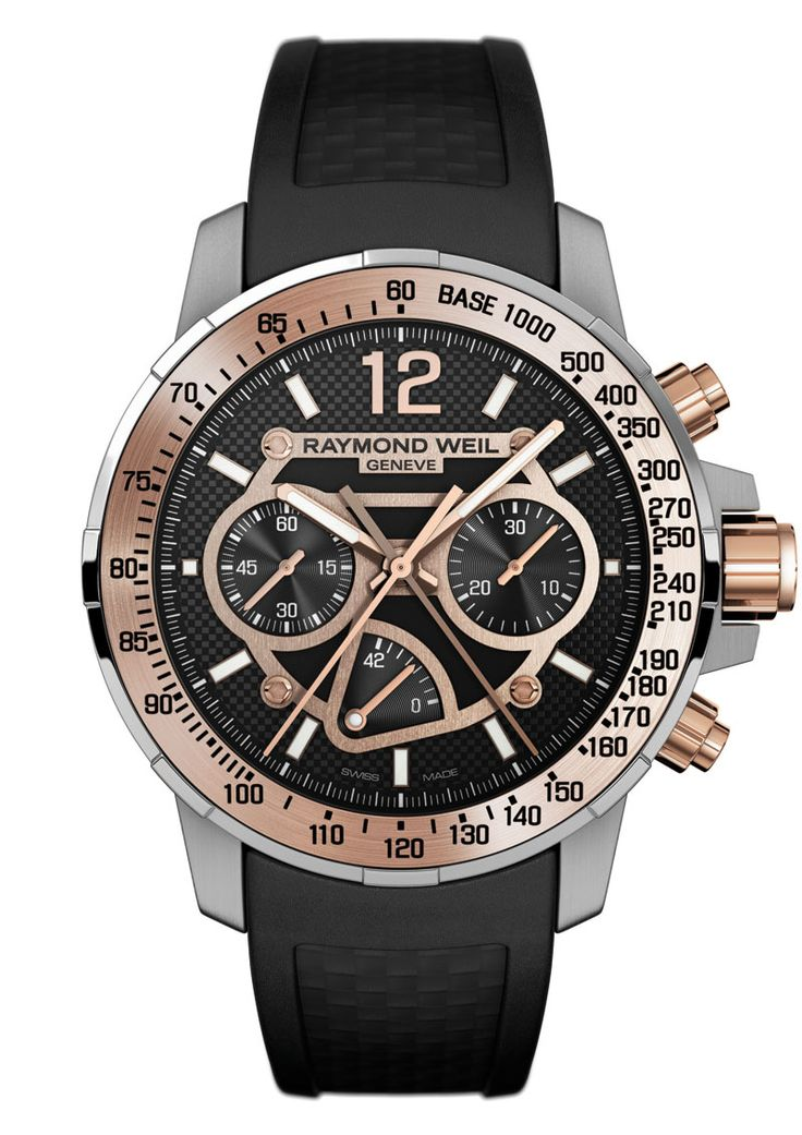 1000 images about raymond weil watches on pinterest chronograph men 39 s watches and luxury watches for Raymond weil watch