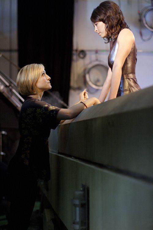 Kristine kreuk in lesbian scene
