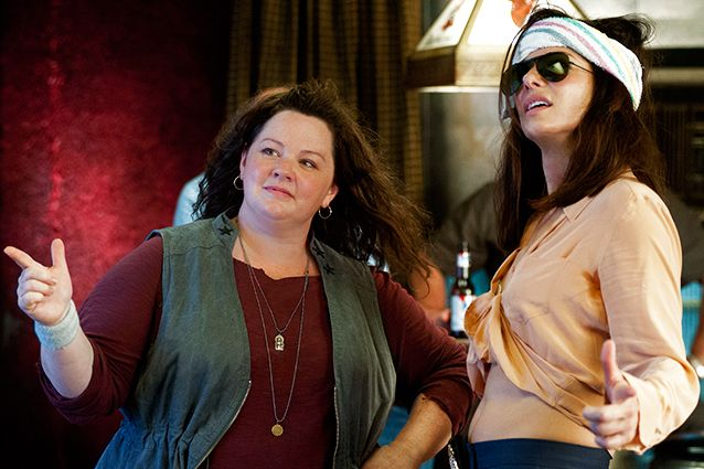 The Heat, Sandra Bullock and Melissa McCarthy.  Buddy cop movie that made me laugh until my sides hurt.  They remain truly talented, and the movie was great fun.
