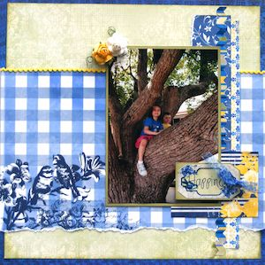Happiness page created with BoBunny, Genieve collection by Teena Hopkins for My Scrappin' Shop. #BoBunny