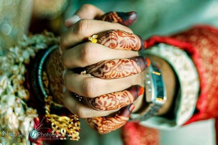 Dulhan Bride Indian Pakistani Desi Wedding Henna Mehndi Dulha Groom