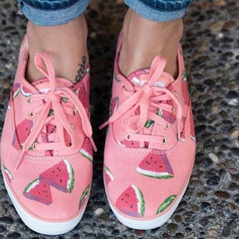 #cute #watermelon #shoes ❤❤❤