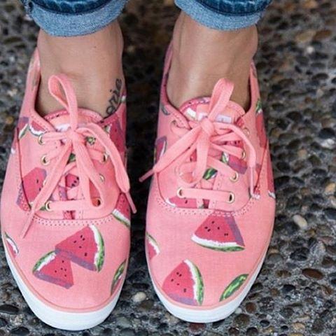 #cute #watermelon #shoes ❤❤❤