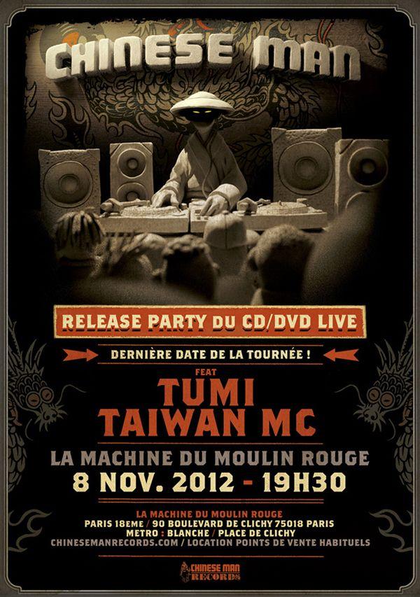 souvenirs 2012 - Chinese Man feat TUMI & Taiwan MC @ La Machine du Moulin rouge