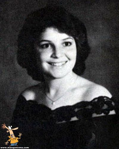 Young Sarah Palin yearbook picture