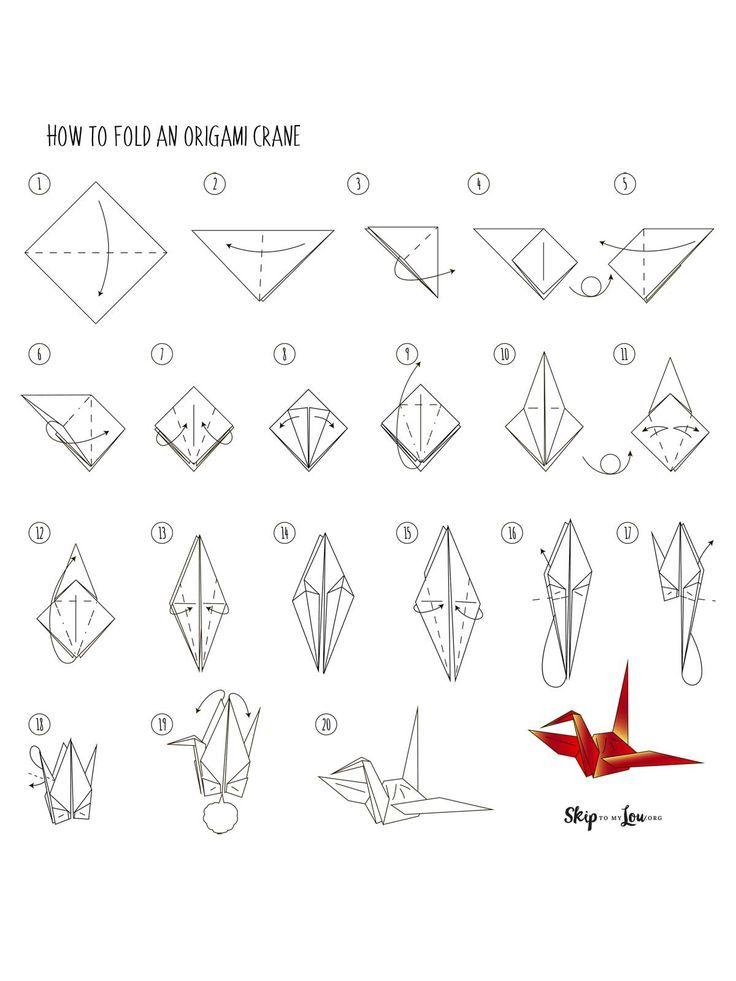 Origami Crane Origami Paper Crane Origami Easy Origami Crane