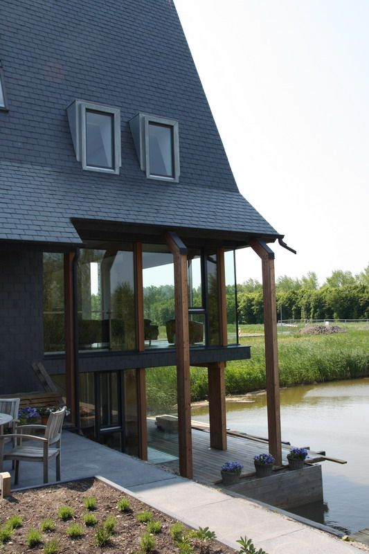 1000 images about hout in huis on pinterest tes western red cedar and doors - Huis architect hout ...