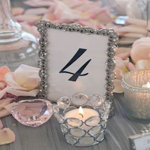 Silver And Pink Wedding Color Palette