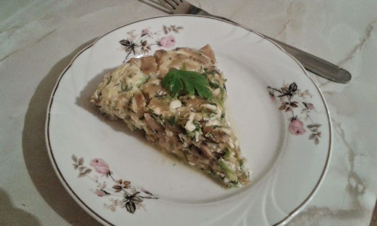Cum devin vegetarian? Ce şi cum mâncăm?: Budincă de fasole păstăi, dovlecei și ciuperci