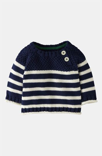 Mini Boden Knit Sweater (Baby) | Nordstrom