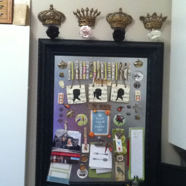 Sheet Medal In Frame Magnet Board Perfect For My Souvenir Travel Collection Since The Fridge Rv Does On Road Or Life An