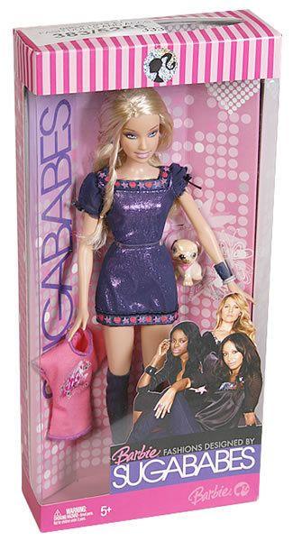 Sugababes Barbie Dolls [Complete Set] Toy UK MATTEL 2007