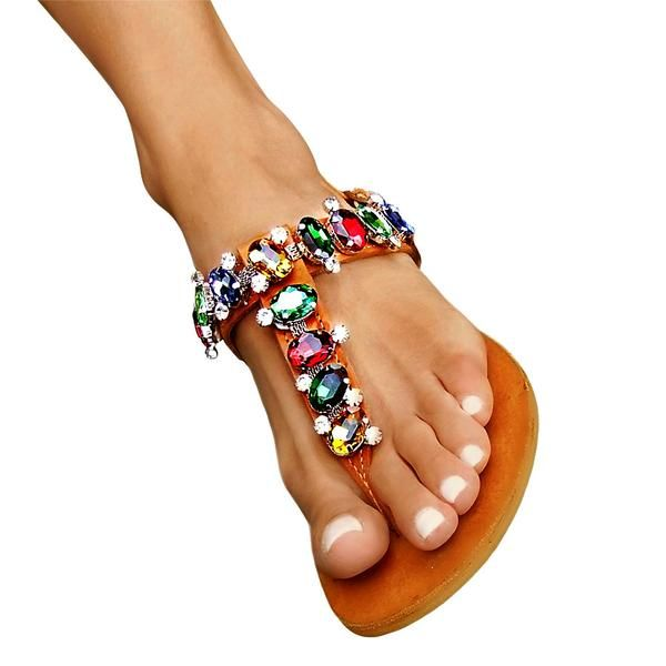 Chloe Colours - flat sandal