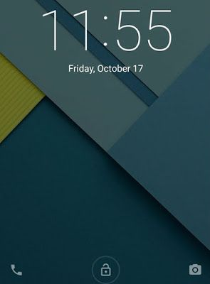 the latest innovations: It turns Password Lock screen On Android Lollipop ...