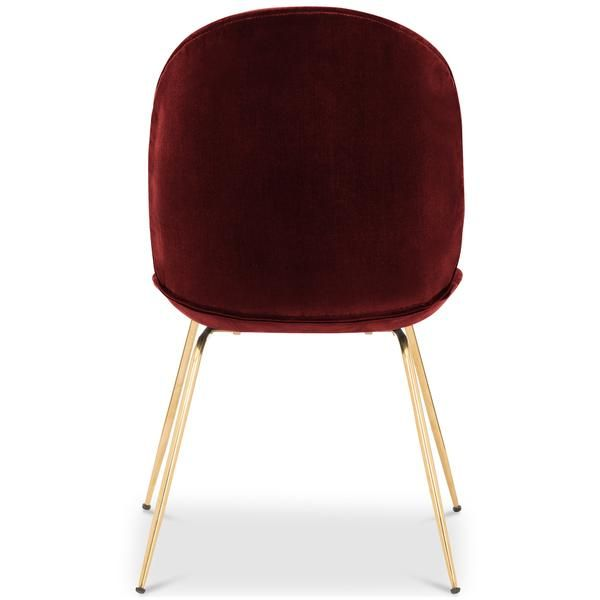 Amalfi Dining Chair In Velvet Round Back Dining Chairs Modern
