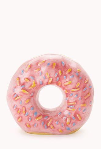 Ceramic Donut Coin Bank   FOREVER21 - 1000065293