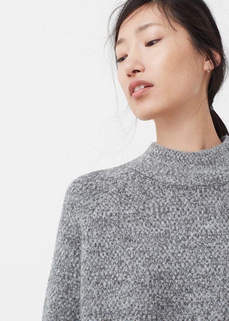 Camisola gola alta | MANGO