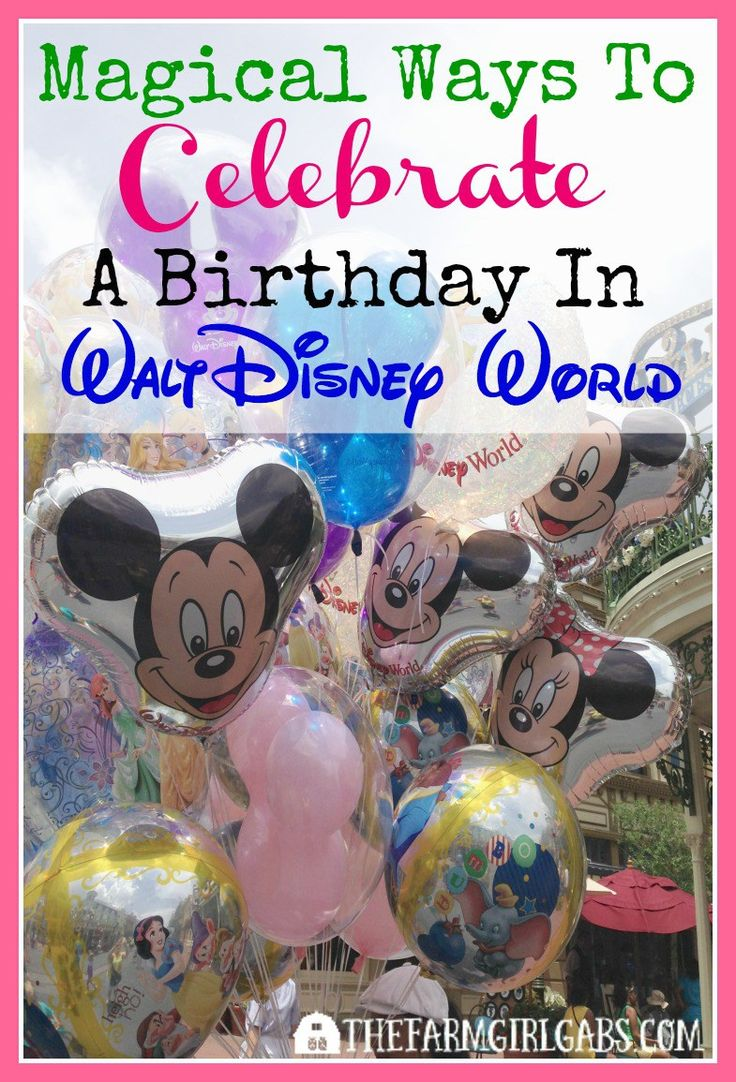 There is nothing more magical then spending your vacation AND birthday at Walt Disney World. Here are some fun ways to celebrate your special day in Disney.