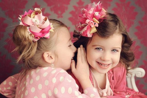 hair bowsHairbows, Little Girls, Best Friends, Fabrics Flower, Bows Tutorials, Make Hair Bows, Hair Accessories, Make Bows, Bows Instructions