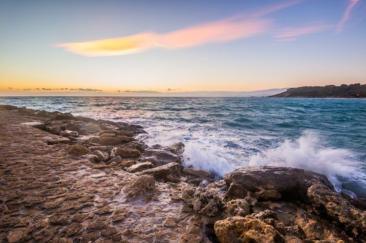 sunset on the ionian sea by Danilo Assara on 500px
