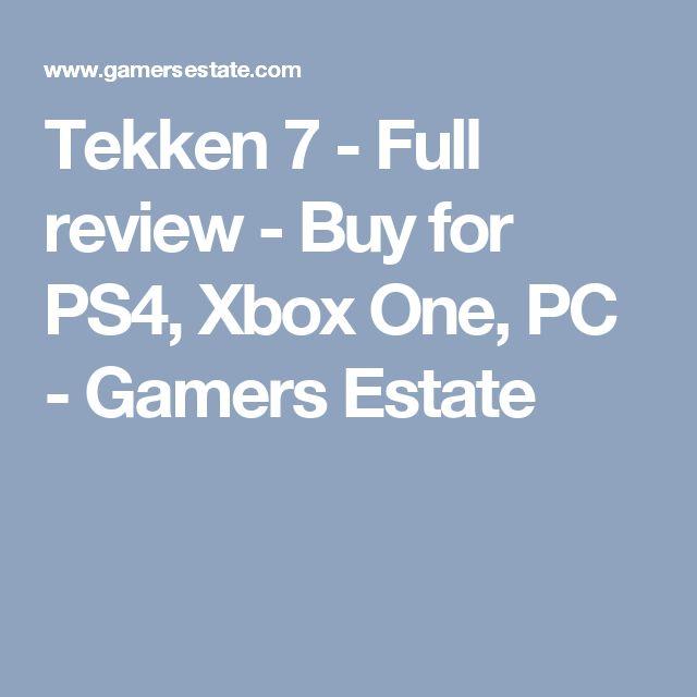 Tekken 7 - Full review - Buy for PS4, Xbox One, PC - Gamers Estate