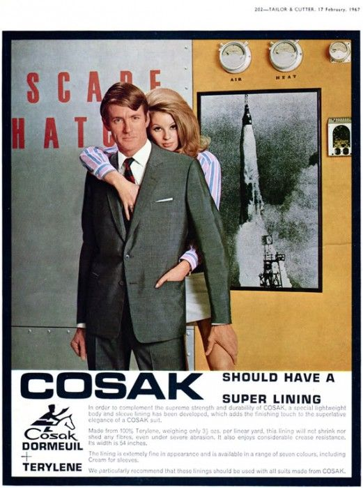 Cosak 1960s Advert