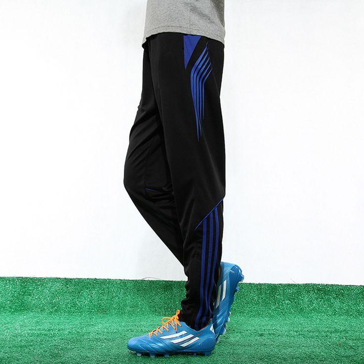 Men Sport Fitness Gym Training Running Pants Legging Pants Men Running Soccer Training Tracksuit Futbol Pants Trousers ZQCK003