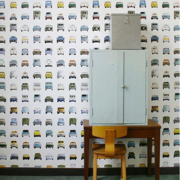 Papier peint Cars - Studio Ditte