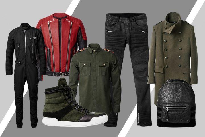 New Sneak Peek Of H&M x Balmain Menswear Collection