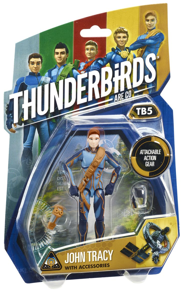 "Thunderbirds 3.75"" Action Figure - John Tracy 