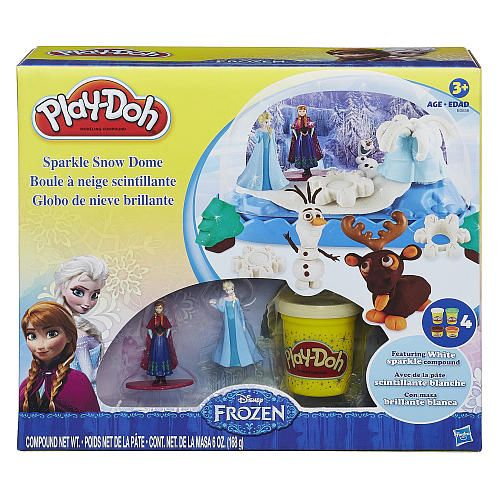 "Play-Doh Sparkle Snow Dome Set Featuring Disney Frozen - Hasbro - Toys""R""Us $14.99"