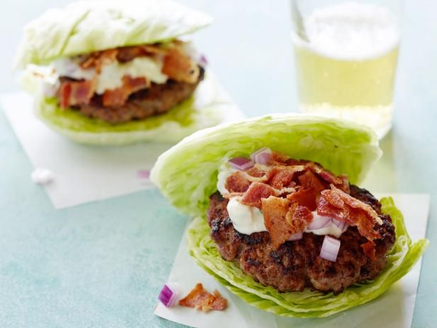 Get Wedge Salad Burgers Recipe from Food Network