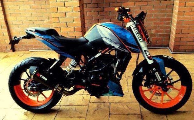 Modified KTM Duke