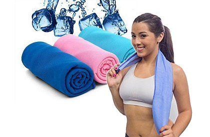 Chladicí ručník - na léto ideální aff#