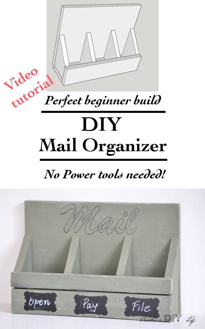 Mail Organizer Plans Best 20 Mail Organizer Wall Ideas On Pinterest Mail