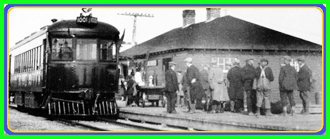 KIRKLAND LAKE ON - T&NO Railway - p1927c Electric coach ran between Swastika & Cheminis,