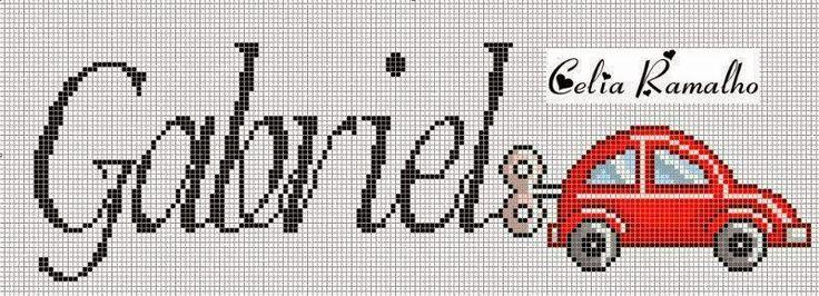 Ângela Bordados: nomes com G
