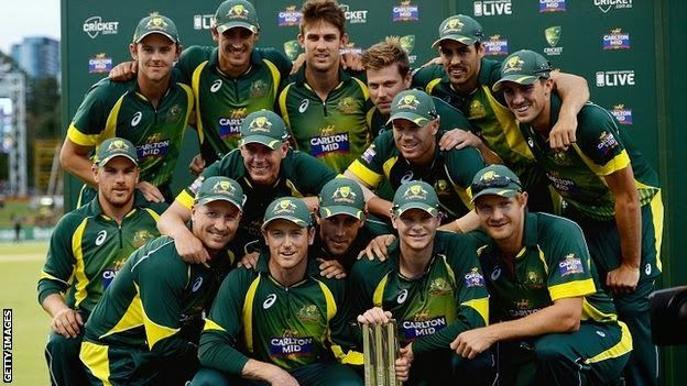 The Times Cricket: Maxwell helps Australia to Win Tri Series against England!!