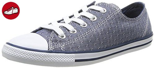 Converse  As Dainty Chambray,  Unisex Erwachsene Hohe Sneakers , Blau - Blue (Marine) - Größe: 37 EU (*Partner-Link)