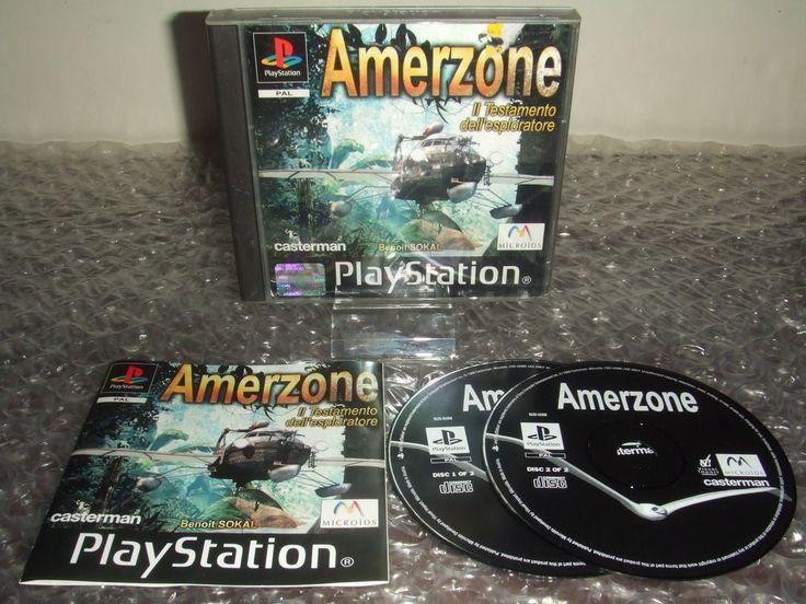 AMERZONE - PS1 ps2 ps3 playstation - PAL ITA - Ottimo