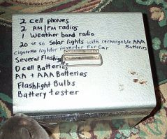 make your own faraday cage to save electronics from an emp blast.