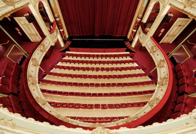 Theatre Royal - view from the dress circle. The Theatre Royal in Hobart is the oldest working theatre in Australia. Guided tours take place every Monday, Wednesday and Friday at 11:00 am where you can get behind the scenes, hear stories about the theatre's history and the performers who have trodden the boards