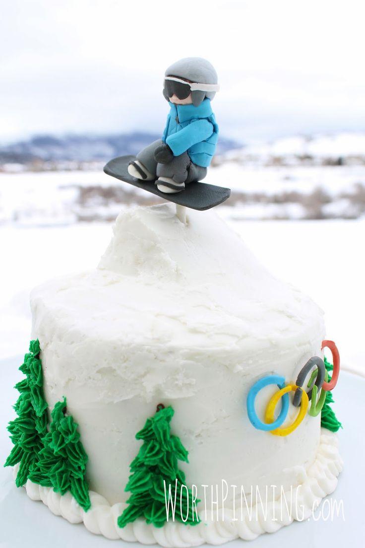 Worth Pinning: Snowboarder Jump Cake                                                                                                                                                                                 More