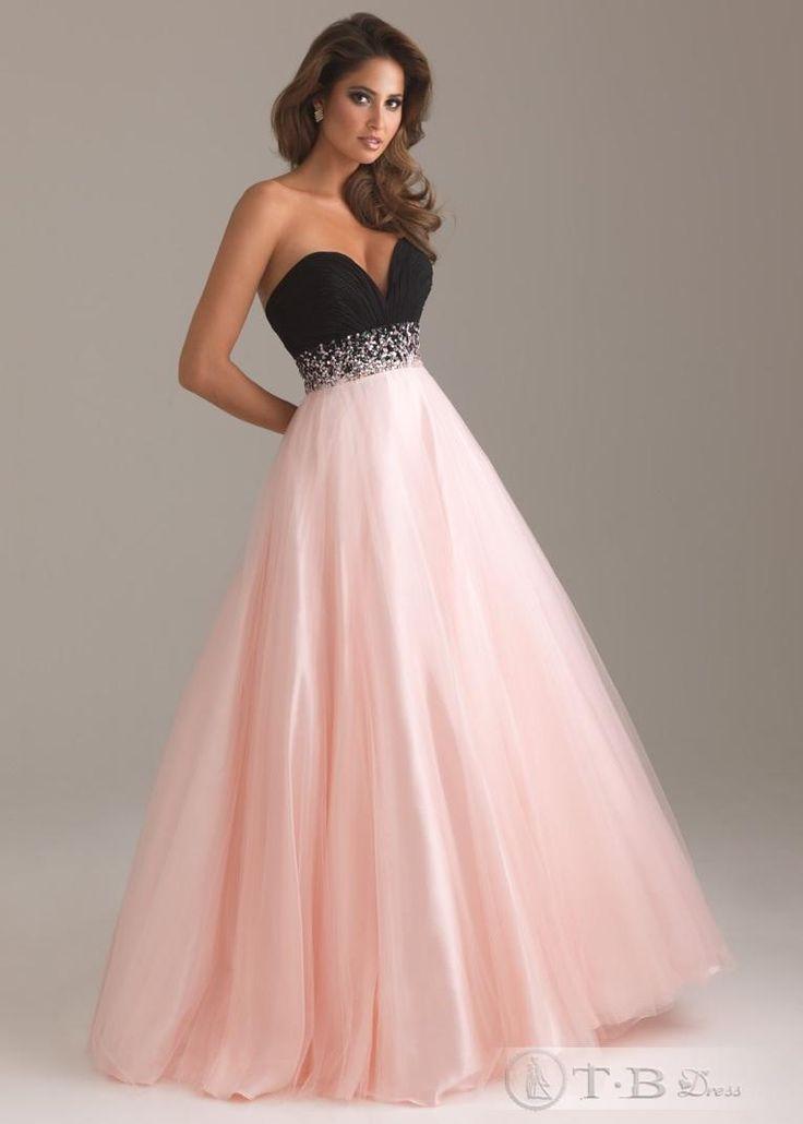 9 best Pink And Black Dresses images on Pinterest | Black lace ...