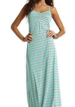 Vitamin A Silver Turquoise Erica Maxi Dress | Vitamin A Silver Swimwear 2013 | Vitamin A Silver Bikini
