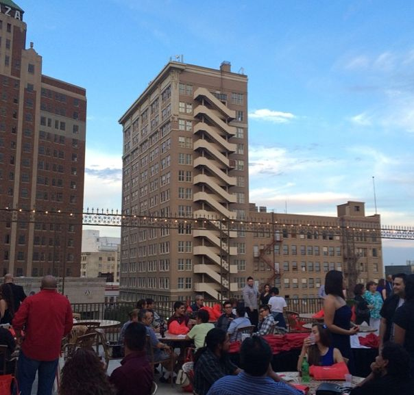 Beautiful View From Downtown El Paso. This Is Our View From The Sky Garden,  Plaza Theatre Rooftop, During The 2014 Evolution Film Festival.