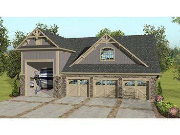 Beautiful 3 Car Garage House Plans For Design Inspiration