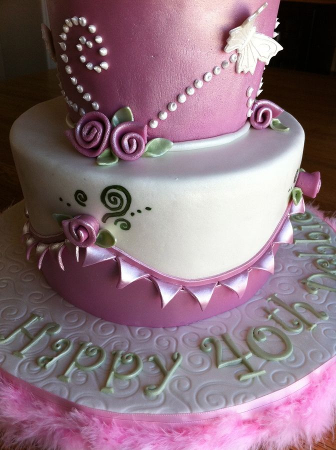 Elegant Birthday Cakes for Women  can not take credit for this design ...